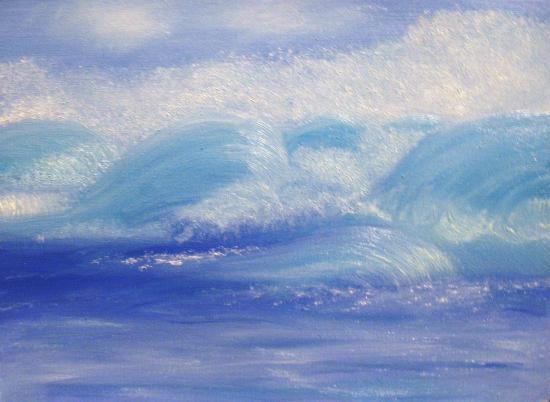 Vagues à l'âme ou lames de vagues, HB/P