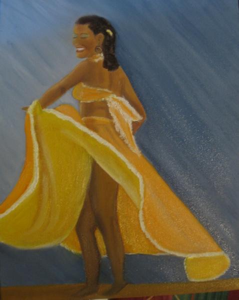 Danseuse mauricienne